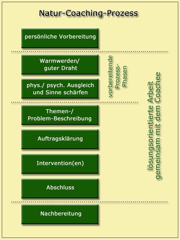 Natur-Coaching-Prozess